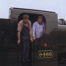 Jeff and Dennis on the foot plate of 9466