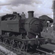 Stratford on Avon, light engine to Worcester 16/08/58. Photo by Signalman Don Wimlett